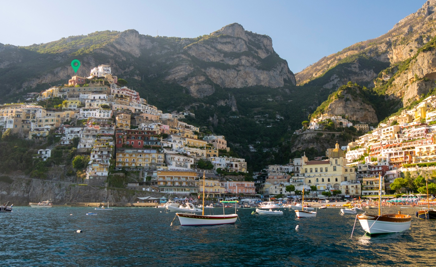 Tropical Island Beach Ambience Sound: Boutique Resort In Positano