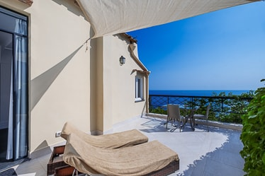 Double room with balcony with a sea view - Villa Magia, Positano